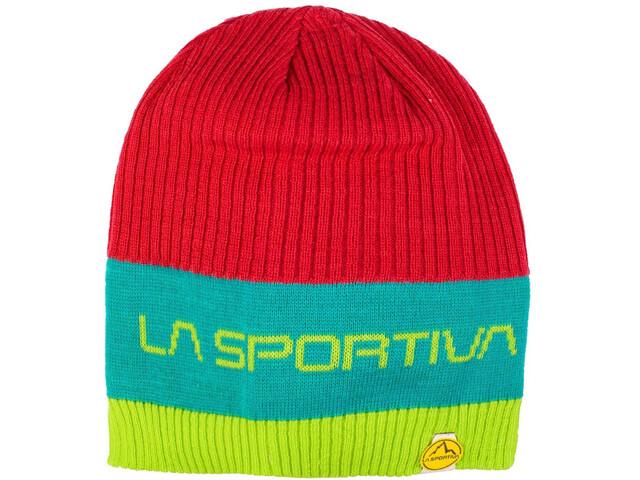 La Sportiva Beta Beanie Pipo, tropic blue/apple green